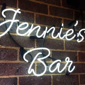 Jennies Bar Sign
